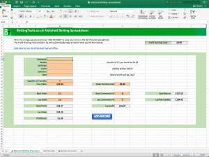 Matched betting tutorial for excel celtic v helsingborgs betting
